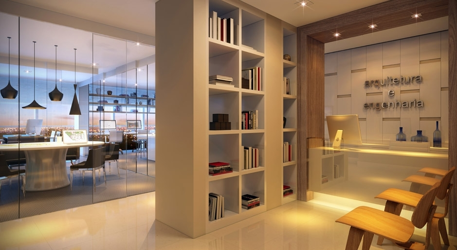 decoracao de interiores para escritorios : decoracao de interiores para escritorios: de Layout e Decoração para um Escritório de Arquitetura e